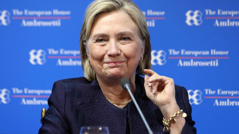 Foto: Hillary Clinton, en un reciente acto. Foto: EFE EPA MATTEO BAZZI