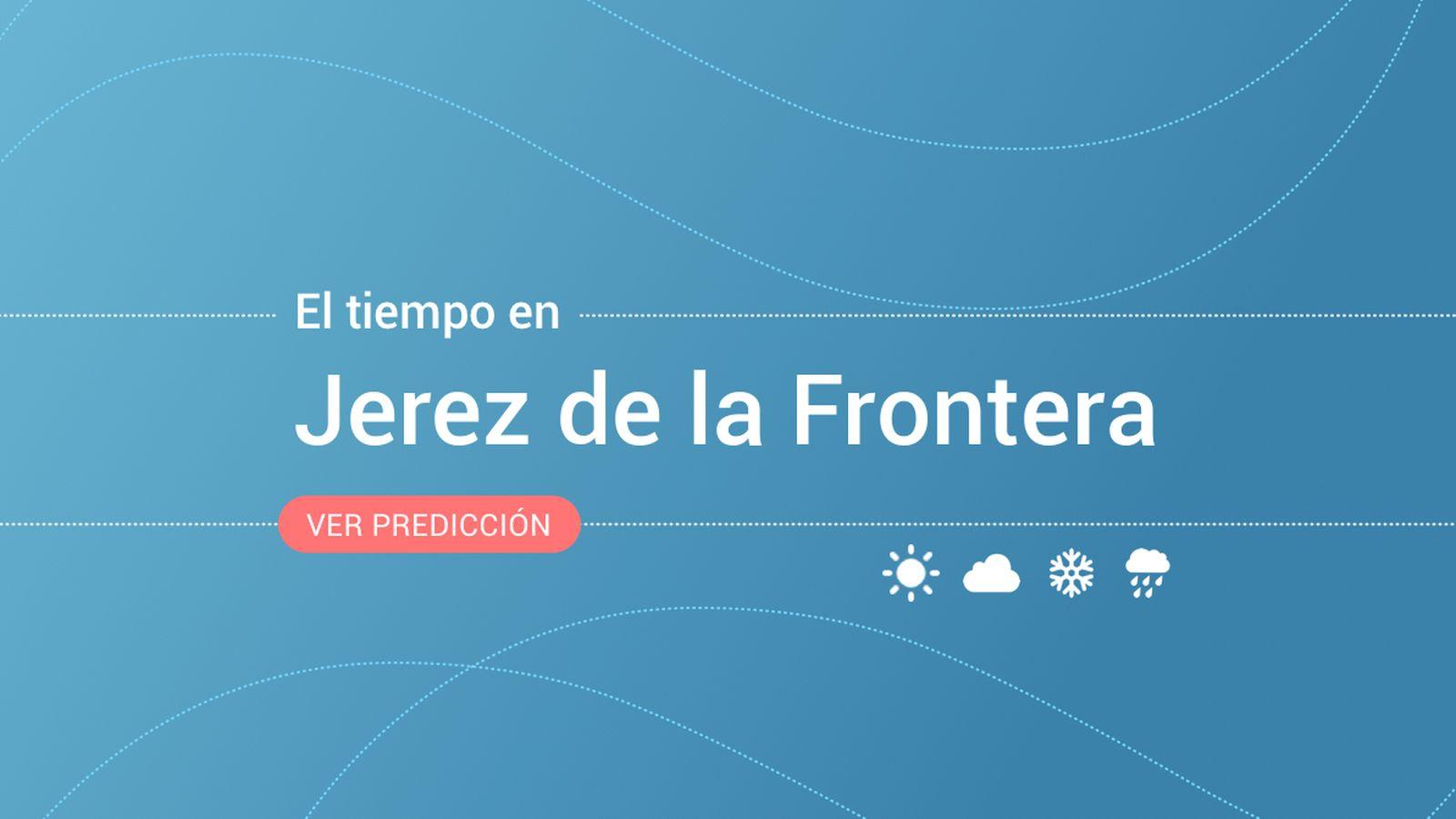 Foto: El tiempo en Jerez de la Frontera. (EC)