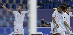 Post de El Sevilla no sabe sentenciar y deja con vida al Leicester City