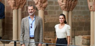 Post de Las alpargatas (ideales) de Castañer que la reina Letizia ha estrenado en Huesca