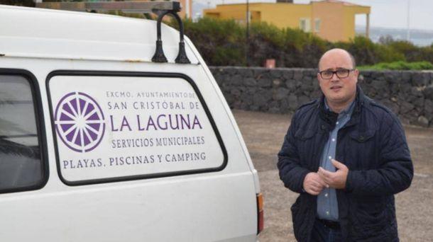 Foto: Zebenzuí González (PSOE), concejal de La Laguna. (Ayuntamiento)