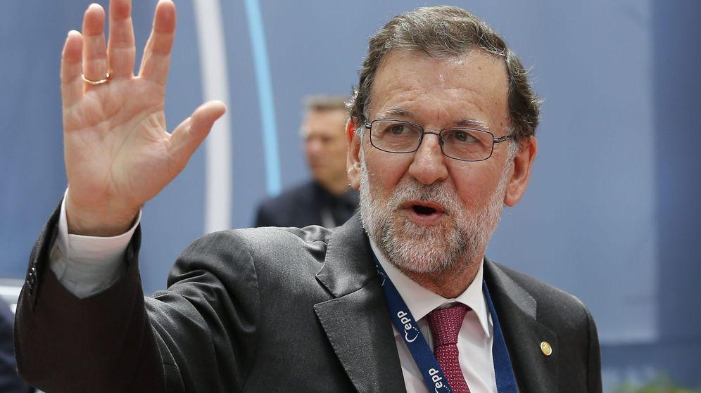 Foto: El presidente del Gobierno en funciones, Mariano Rajoy, esta semana en Bruselas./EFE