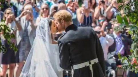 El vídeo con imágenes nunca vistas de la boda de Meghan Marckle y el príncipe Harry