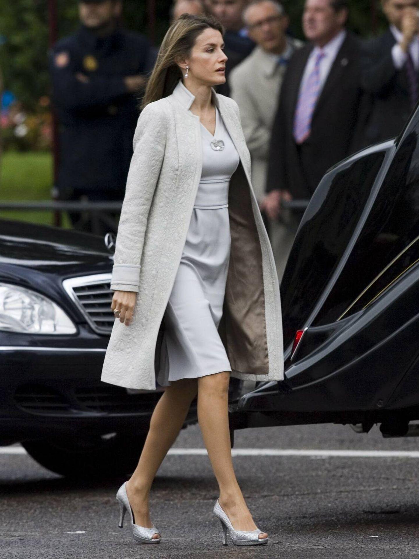 La Reina, en la Hispanidad de 2008. (CP)