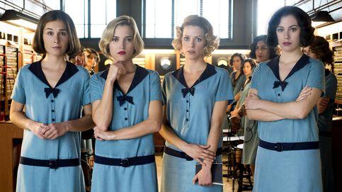 Las 4 protagonistas 'venden' el estreno de 'Las chicas del cable'
