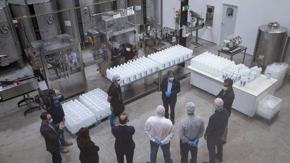De fabricar vodka de leche a exportar hidrogel alcohólico por medio mundo
