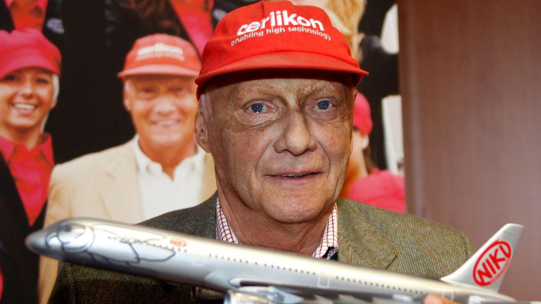 Niki Lauda ejerciendo como presidente  de la aerolínea Niki. (Reuters)