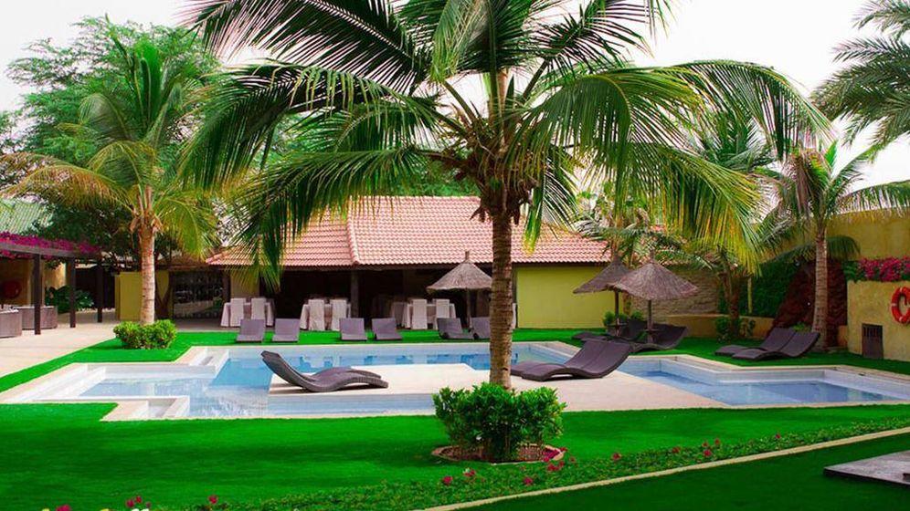 Foto: Una de las zonas de descanso del hotel spa 'The Rhino Resort'.