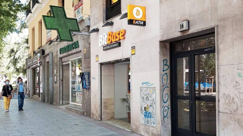 Establecimiento de BitBase en la calle Princesa, Madrid. (J. M.)
