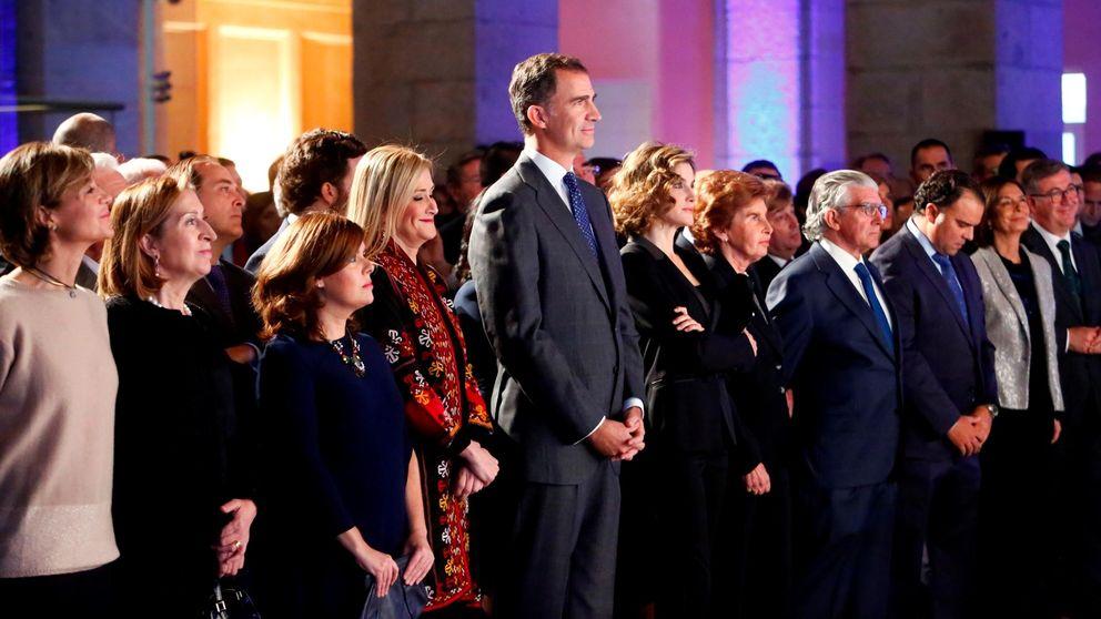 Los Reyes arropan, junto a Pablo Iglesias y Albert Rivera, el 15 aniversario de '20 minutos'