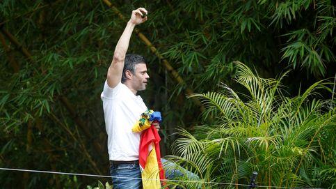 Primeras horas de libertad de Leopoldo López en imágenes