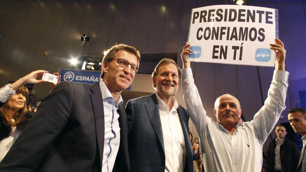 Rajoy defiende a sus escoltasy continuará a pie de calle: Está olvidado