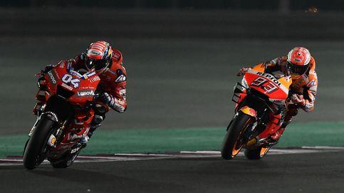 El error de Dovizioso que le ha quitado la victoria a Marc Márquez
