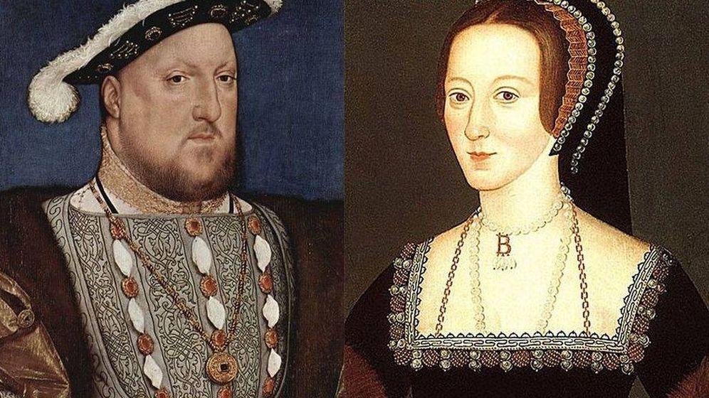 Foto: Enrique VIII y Ana Bolena.