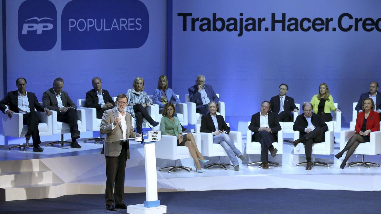 Foto: Presentación del programa y candidatos del PP para las elecciones autonómicas. EFE