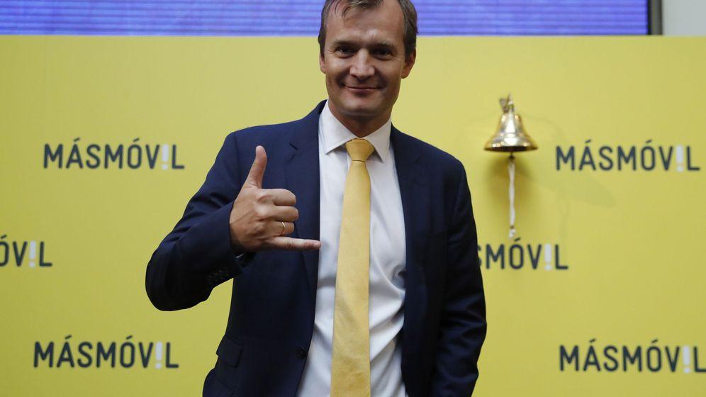 Foto: Meinrad Spenger, consejero delegado de MásMóvil. (EFE)