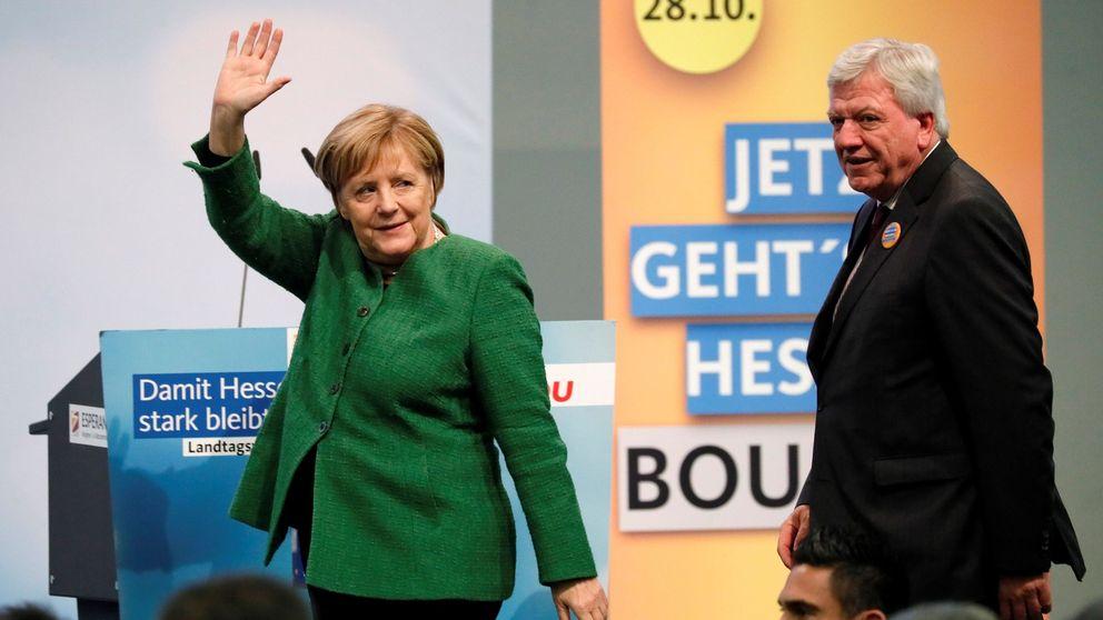 Peligra la Gran Coalición alemana por las elecciones en Hesse