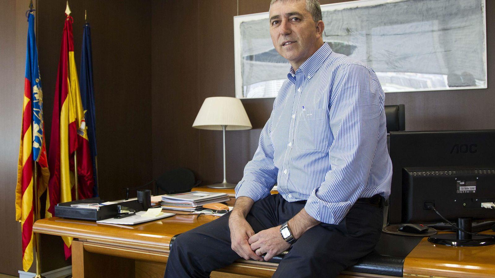 Foto: El 'conseller' de Economía, Rafael Climent, de Compromís. (EFE)