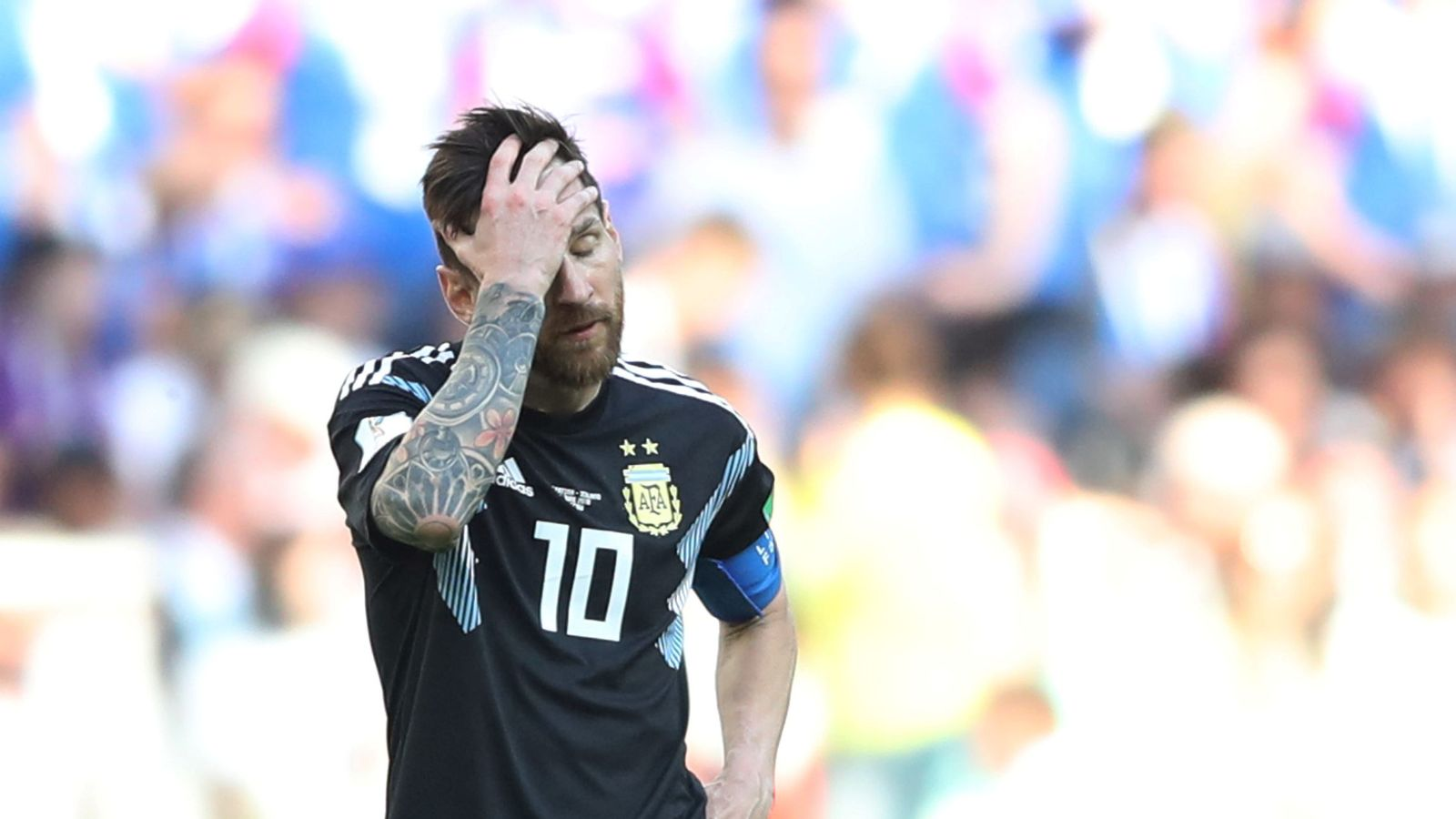 Foto: World cup - group d - argentina vs iceland