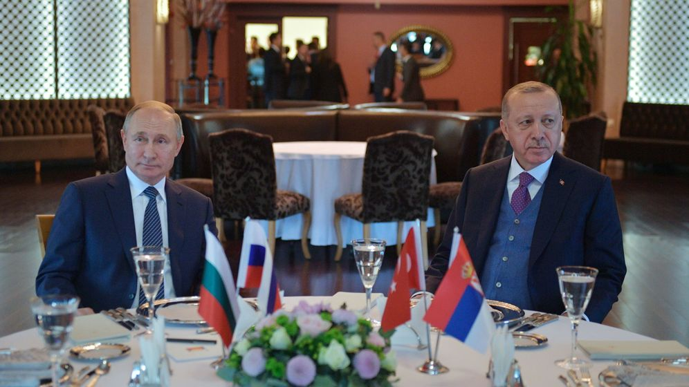 Foto: Vladimir Putin y Recep Tayyip Erdogan. (Reuters)
