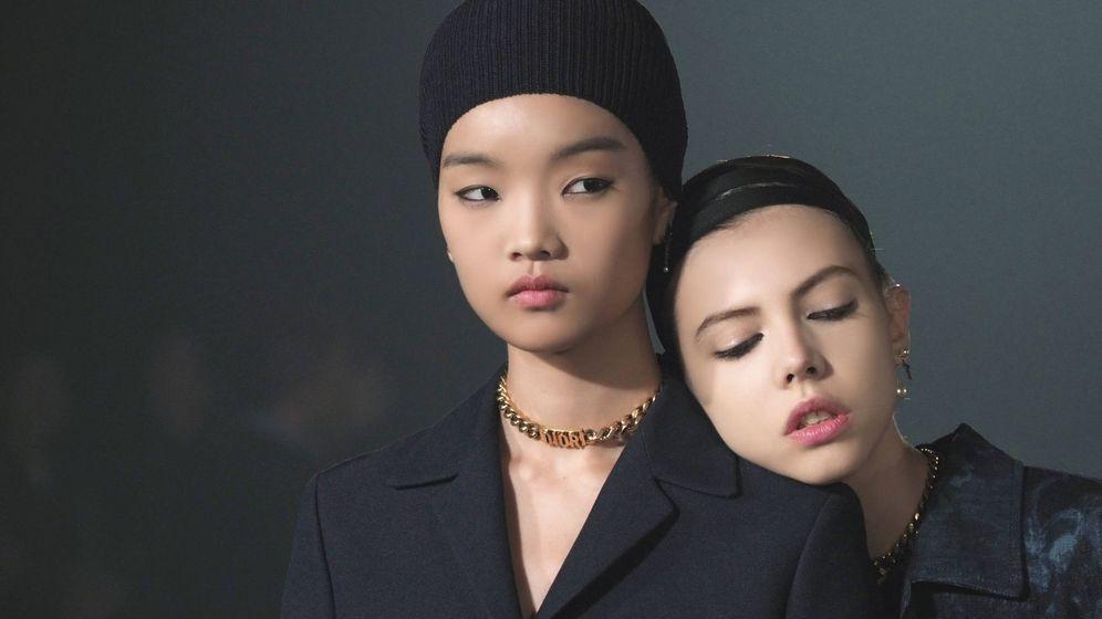 Foto: Modelos durante el desfile de Dior Primavera-Verano 2019.