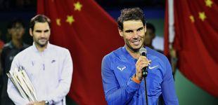 Post de Rafa Nadal contra un Federer fuera de control