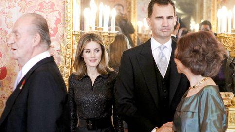 Letizia recibe por primera vez a sus suegros en Nochebuena