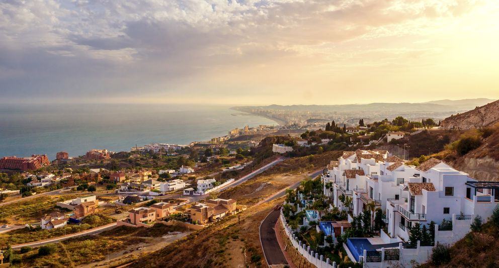 Foto: Imagen panorámica de Marbella