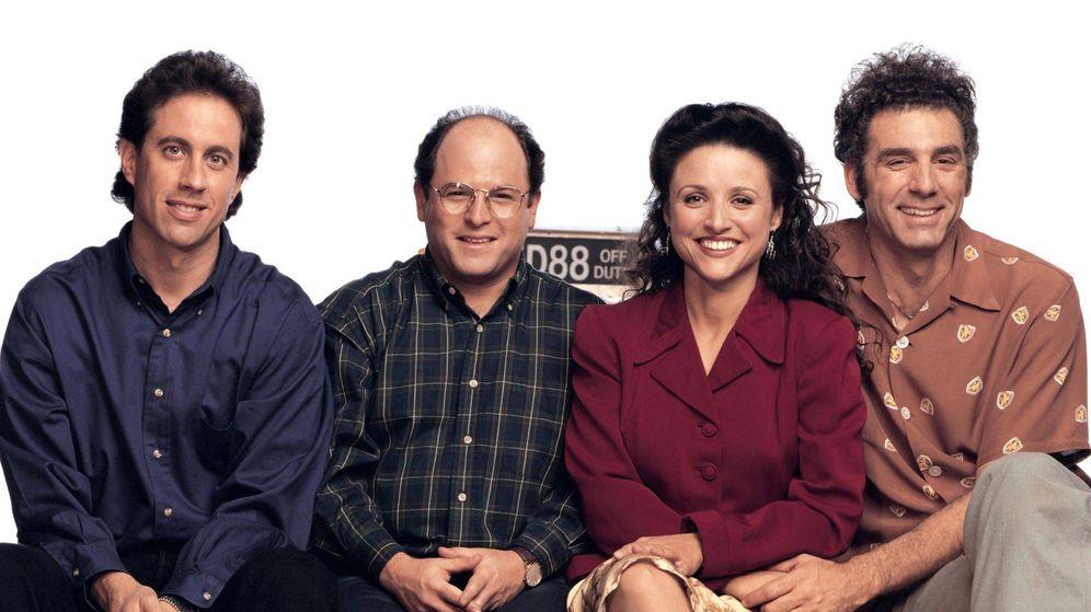Foto: Imagen promocional de la serie 'Seinfeld'. (NBC)