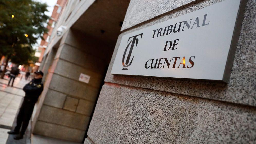 Foto: Entrada del Tribunal de Cuentas. (EFE)