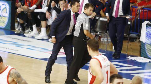 Prigioni pierde los nervios y es expulsado  tras encararse a los árbitros