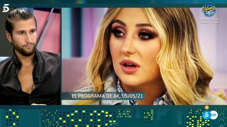 Gianmarco y Rocío Flores. (Telecinco).