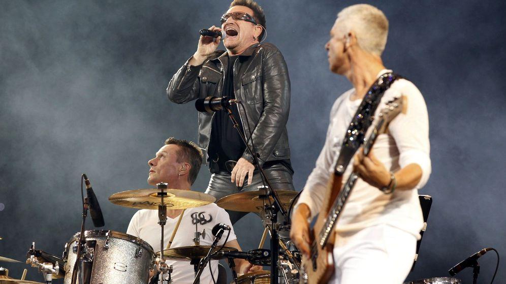 Foto: U2 en un concierto (Reuters)