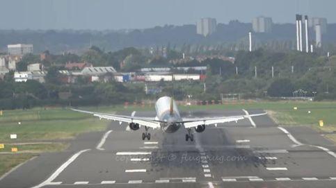 Aterrizaje frustrado de un Airbus por culpa del viento: el aire complica las maniobras en el aeropuerto de Birmingham