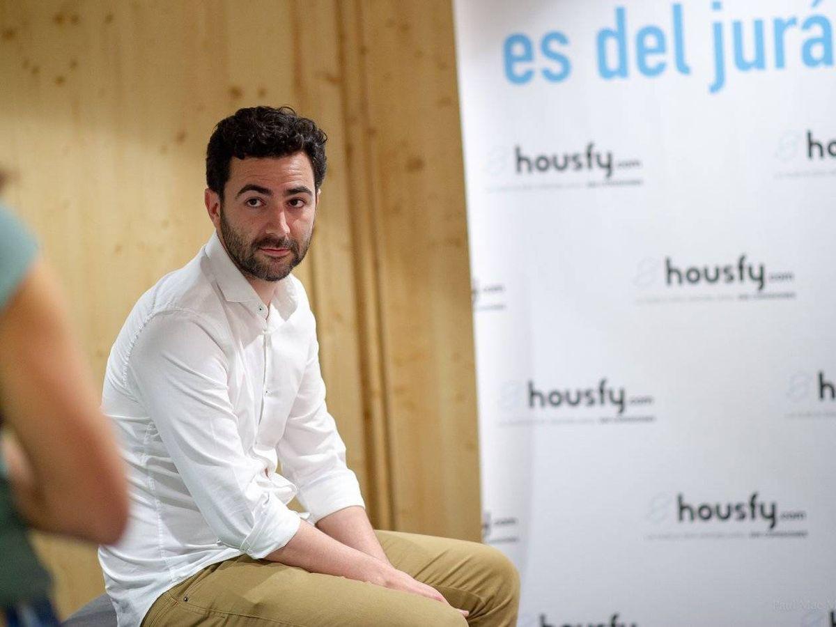 Foto: Albert Bosch, CEO y cofundador de Housfy. (Paul Mac Manus)