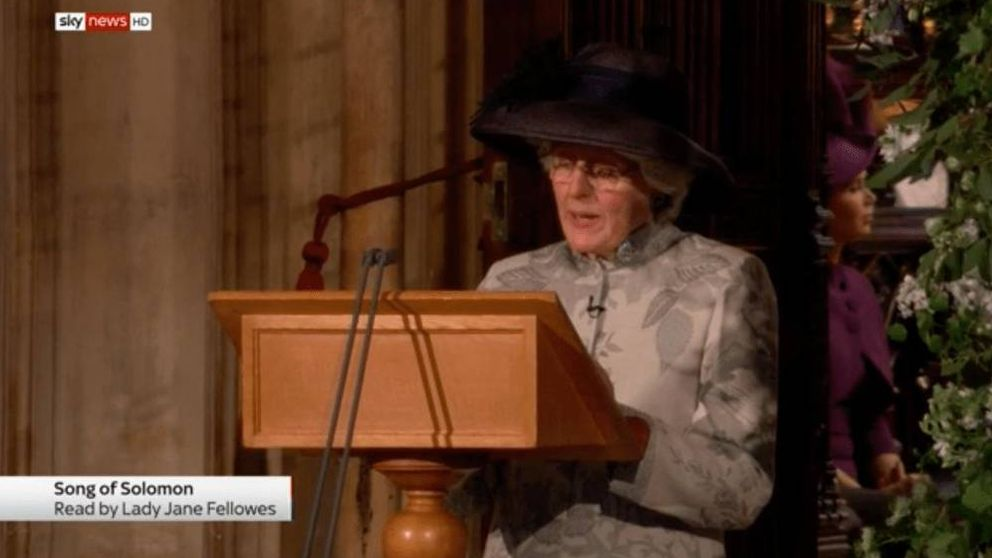 Jane Fellows, la hermana de Diana, clave en la boda de Harry y Meghan