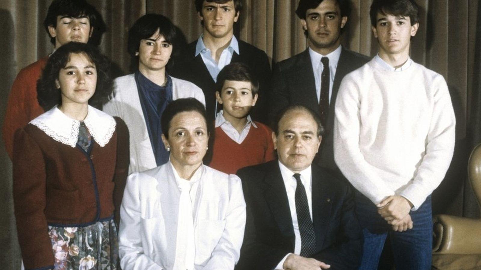 Foto: Fotografía de archivo de la familia Pujol. (EFE)