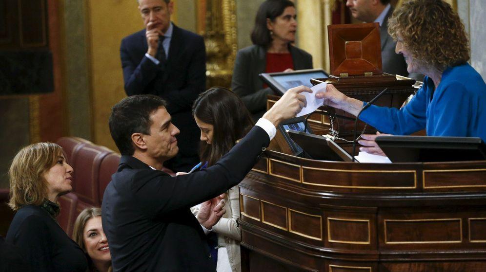 Foto: Pedro Sánchez, el pasado 13 de enero en la constitución del Congreso de la XI Legislatura. (Reuters)