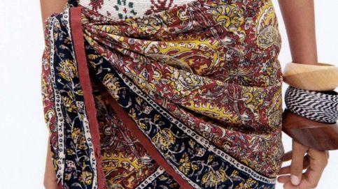Confesamos nuestro amor por esta falda pareo de Zara