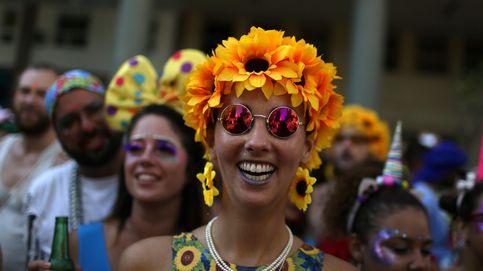 El carnaval de Río de Janeiro coge forma