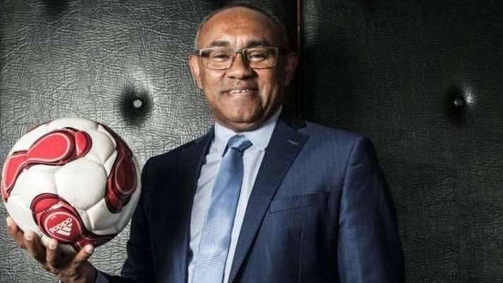 Foto:  Ahmad Ahmad, presidente de la Confederación Africana de Fútbol