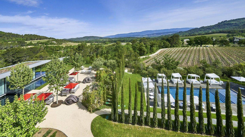 El lugar elegido por Kanye e Irina. (Hotel Villa La Coste)
