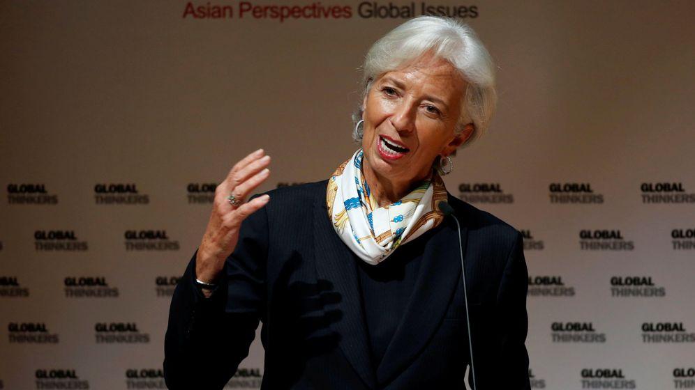 Foto: La directora gerente del FMI, Christine Lagarde. (Reuters)