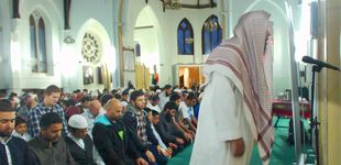 Post de Dentro de la mezquita a la que iba el terrorista de Mánchester