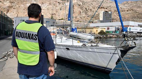 Cuatro detenidos tras interceptar dos embarcaciones con más 400 kg de hachís