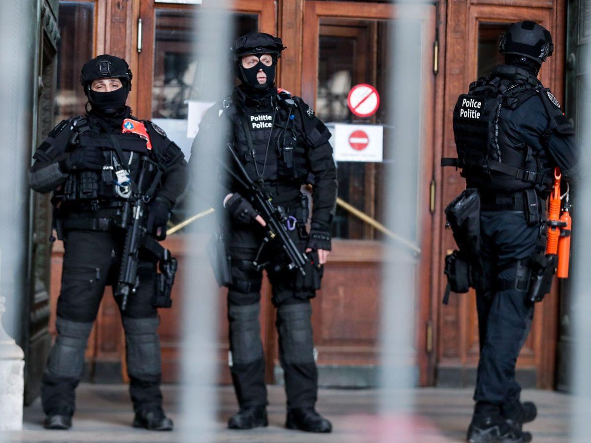 Foto: Foto de archivo, policía belga. (EE)