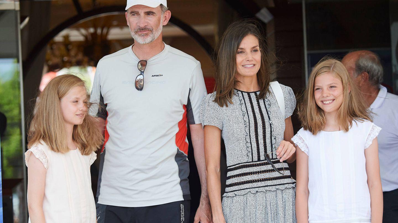 La familia real en Mallorca. (Limited Pictures)