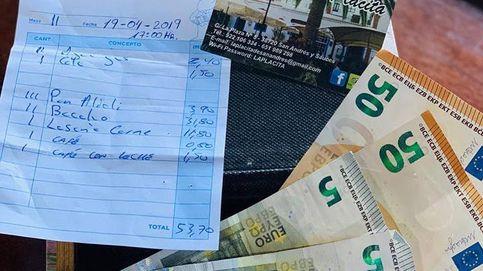 Buscan en Canarias a unos turistas que dejaron una propina demasiado generosa
