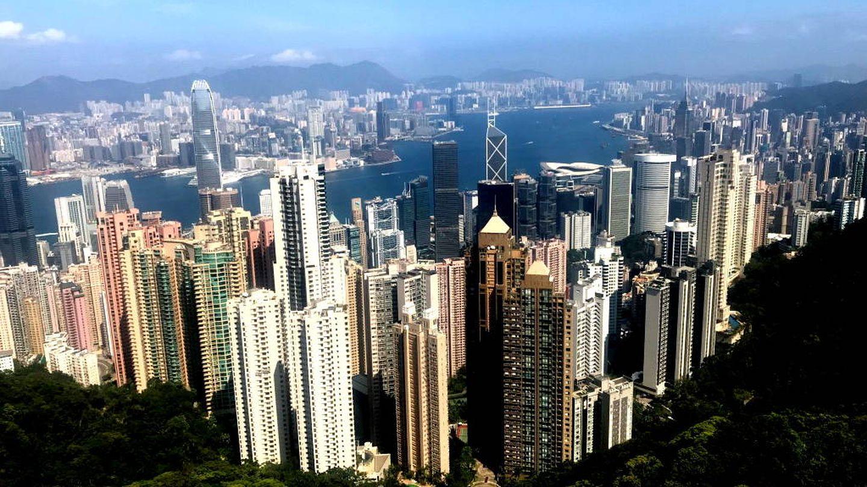 Parte de la ciudad de Hong Kong prohibida a los chinos. (J. B.)