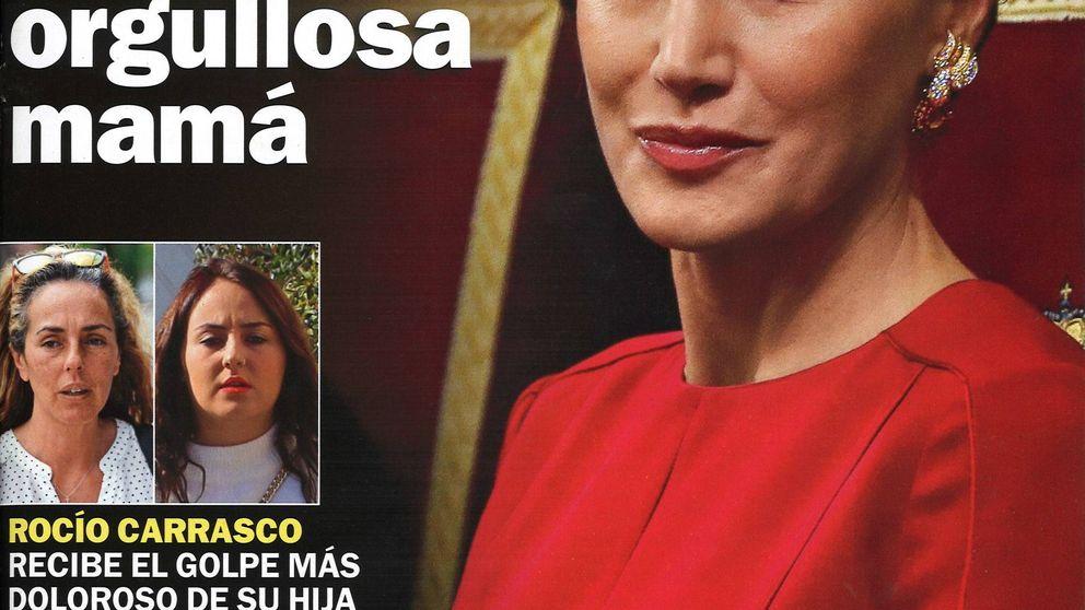 El orgullo de madre de Letizia y el ADN de Julio José Iglesias